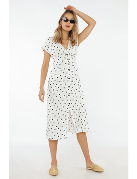 Marbella Calling Dot Dress by Chiquelle