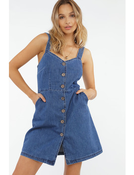 Hot Days Expected Denim Dress by Chiquelle