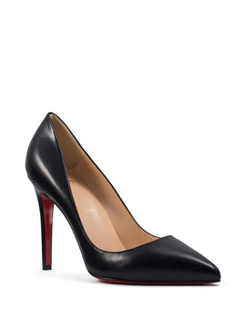 Pigalle Black Leather Stiletto Heels by Christian Louboutin                              Sold Out