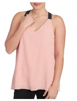 Knit V Neck Sleeveless Tank Top Knit V Neck Sleeveless Tank Top by Mely New York Mely New York