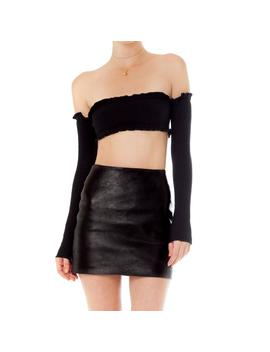 Kala Leather Skirt by Are You Am I