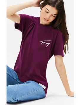 signature-t-shirt by tommy-jeans