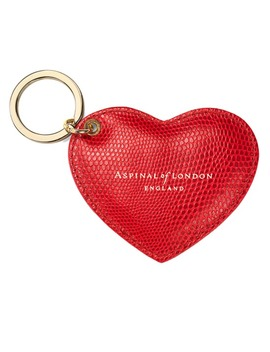 Heart Key Ring by Aspinal Of London