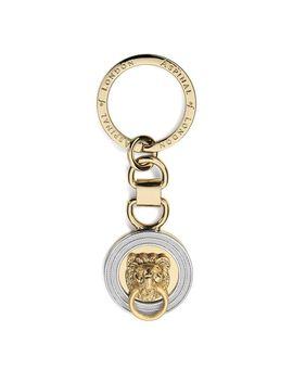 Aspinal Lion Keyring by Aspinal Of London