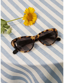 Krewe X Reformation Irma Sunglasses by Reformation