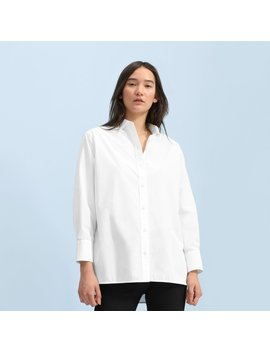 The Poplin Oversized Shirt by Everlane