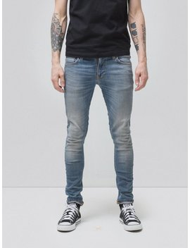 Tight Terry Strikey Pale by Nudie Jeans