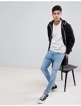 jack-&-jones-originals-lightweight-hooded-jacket-with-contrast-zip by jack-&-jones