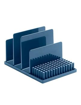 Slate Blue Poppin File Storage Kit by Container Store