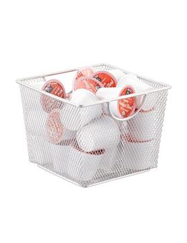 Silver Mesh Storage Bin by Container Store