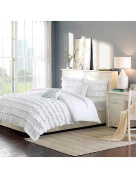 5 Piece Kacie Solid Comforter Set 5 Piece Kacie Solid Comforter Set by Intelligent Design Intelligent Design