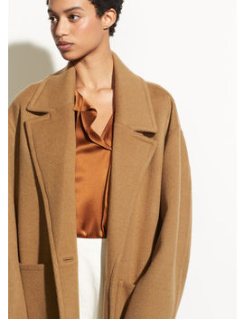 Patch Pocket Car Coat by Vince