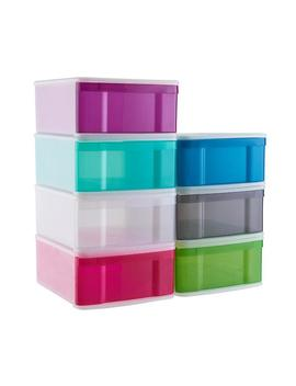 Large Tint Stackable Storage Drawer by Container Store