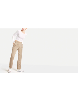 Yellow Harry Check Seam Detail Trouser by Nobody's Child