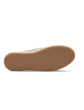 Black Nubuck Suede With Woven Panel Womens Classics by Toms