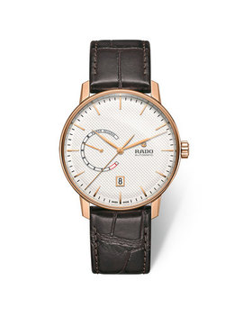 Rado Coupole Rose Gold Tone Automatic Watch by Beaverbrooks