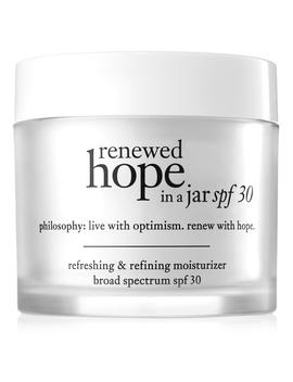 Refreshing & Refining Moisturizer Broad Spectrum Spf 30 Sunscreen by Renewed Hope In A Jar Spf 30