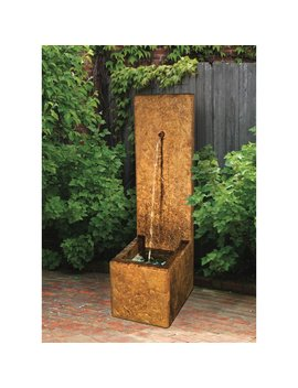 henri-studio-rock-face-single-spout-outdoor-fountain by henri-studio