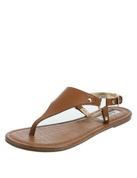 Women's Trekk Hooded Flat Sandal by Learn About The Brand American Eagle