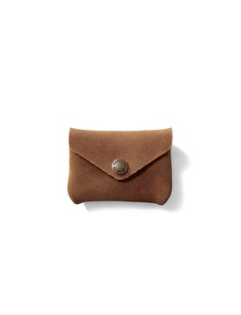 Rugged Suede Snap Wallet by Filson