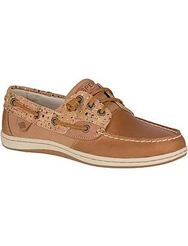 Women's Songfish Cork Boat Shoe by Sperry