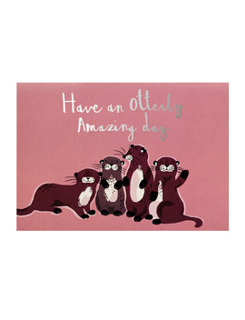 Otterly Amazing Day Card by Cath Kidston