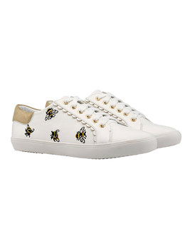 Bumble Bee Embroidered Lace Ups by Cath Kidston
