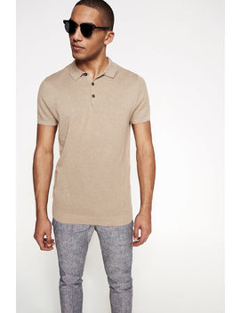 Structured Knit T Shirt by Springfield