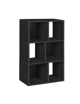 Eco 4 Shelf Modern Bookcase by Way Basics