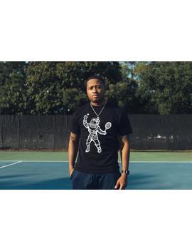 Billionaire Boys Club Bb Tennis Astronaut Ss Tee   Black by Politics