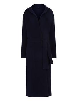 Double Face Knit Coat by Joseph