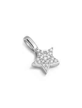 Silver Pave Star Charm by Missoma