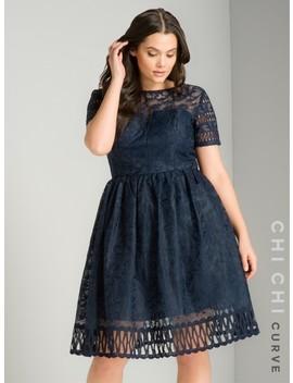 Chi Chi Curve Sheridan Dress by Chi Chi London