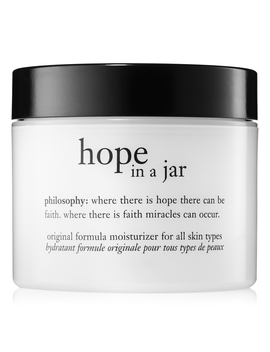 Face Moisturizer For All Skin Types by Hope In A Jar