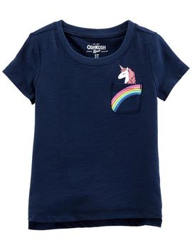 Unicorn Pocket Tee by Oshkosh