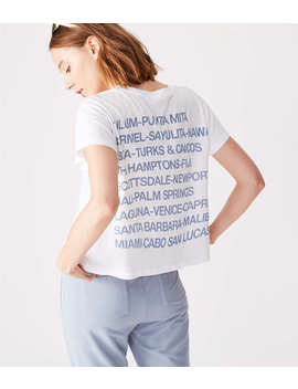 Sundry Destinations Vintage Tee by Lou & Grey