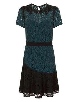 **Little Mistress Teal Wrap Bodycon Dress by Dorothy Perkins