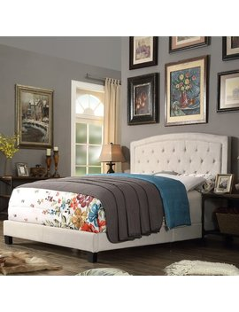 charlton-home-rockaway-upholstered-panel-bed-&-reviews by charlton-home