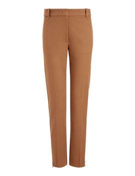 Zoomy Gabardine Stretch Trousers by Joseph