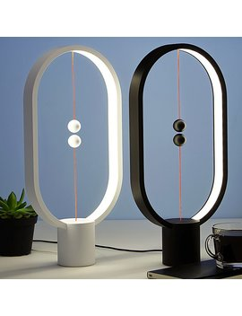 Magnetic Balance Lamp by Zanwen Li
