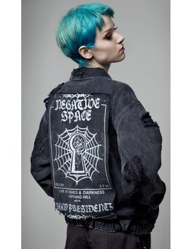 Negative Space Jacket by Disturbia