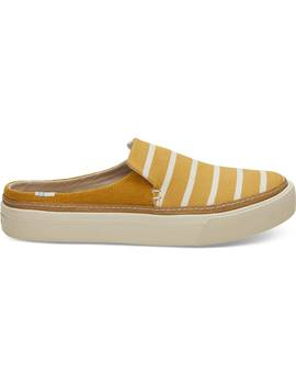 Sunflower Riviera Stripe Women's Sunrise Mule Slip Ons by Toms
