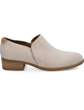 Blush Suede Women's Shaye Booties by Toms
