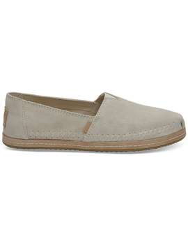 Birch Suede Women's Classics by Toms