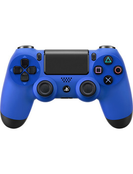 Dual Shock 4 Wireless Controller (Wave Blue) by Sony