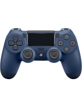 Dual Shock 4 Wireless Controller (Midnight Blue) by Sony