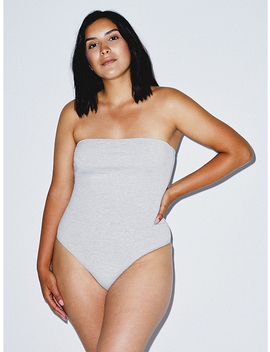 Strapless Bodysuit by American Apparel