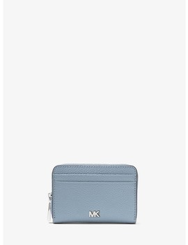 Mercer Small Pebbled Leather Wallet by Michael Kors