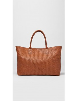 Zoe Leather Tote by J.Mc Laughlin