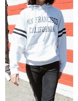 Rey San Francisco California Hoodie by Brandy Melville
